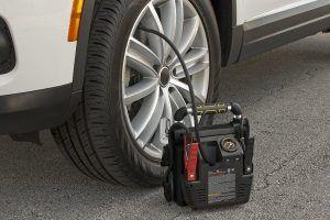 Tire Inflation Jump Starter