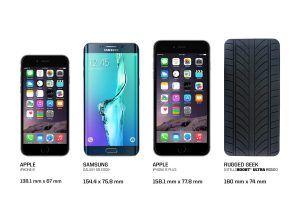 Phone Comparison Intelligent Portable Jump Starter