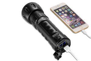 Flashlight Jump Starter Phone