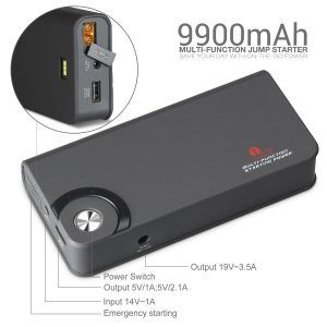 Smart Jump Starters are Extremly Versatile
