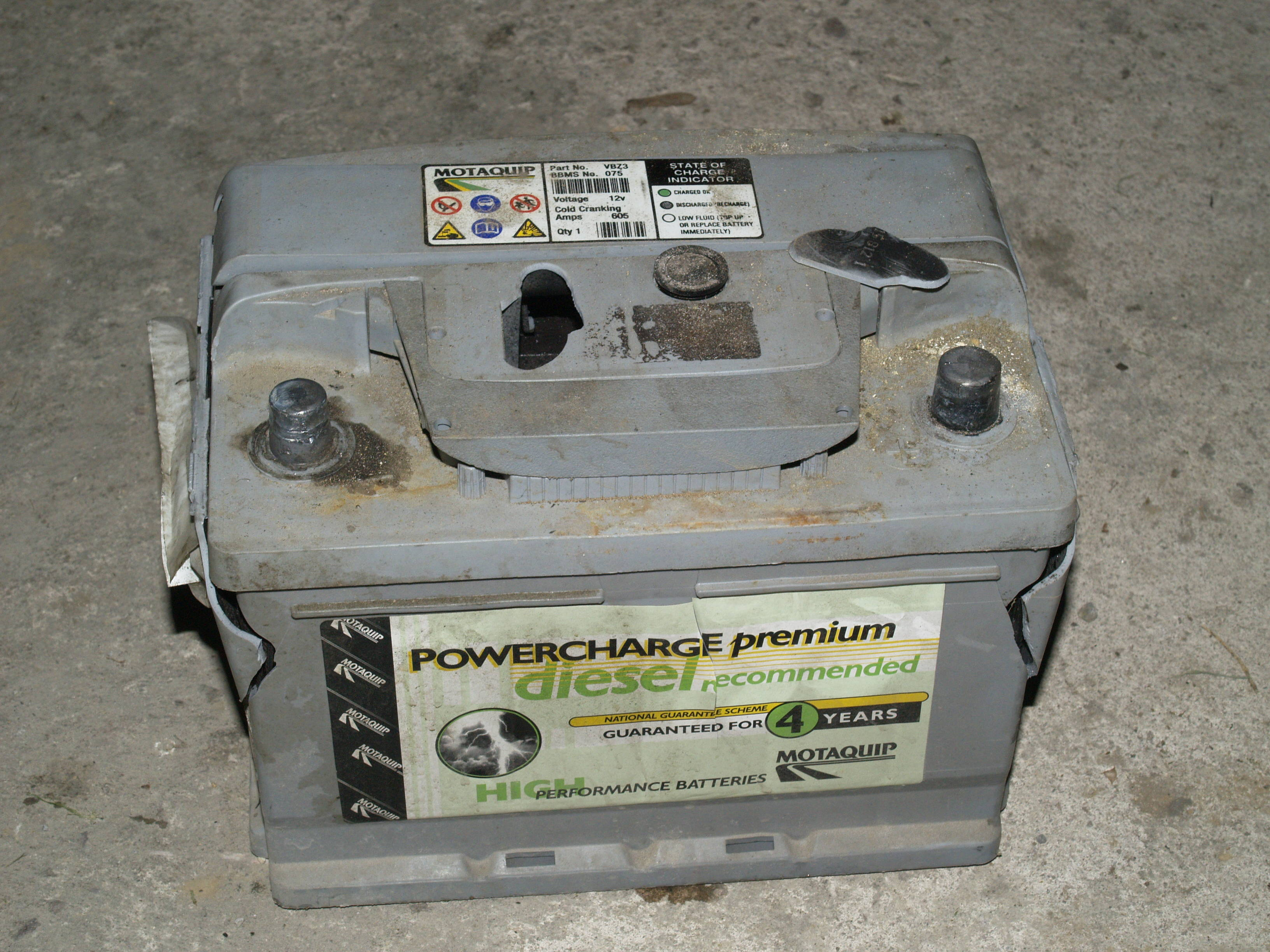 Can A  Volt Car Battery Be Overcharged