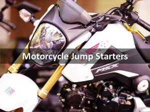 Jump Starters for Motorcycles