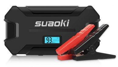 suaoki blue led jumpbox