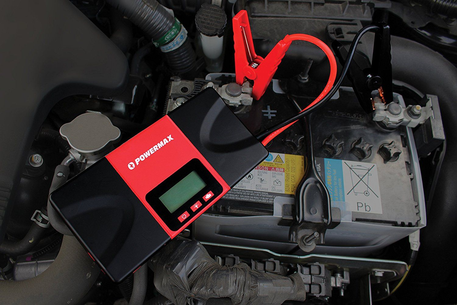 Powermax Usa Jump Starter Battery Pack For Car Enthusiasts