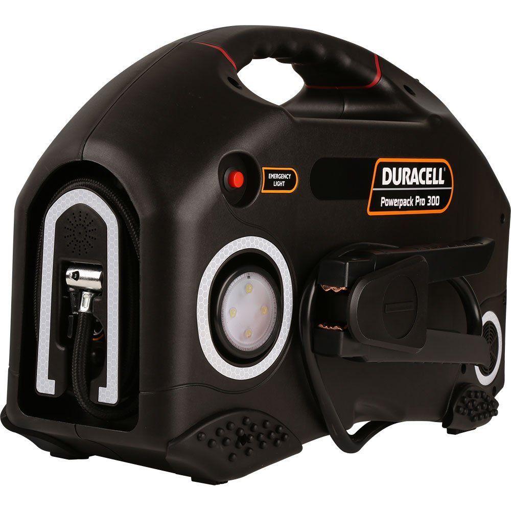 Duracell Car Battery Review >> Duracell Jump Starter Powerpack Pro 300: Battery Jumper Pack
