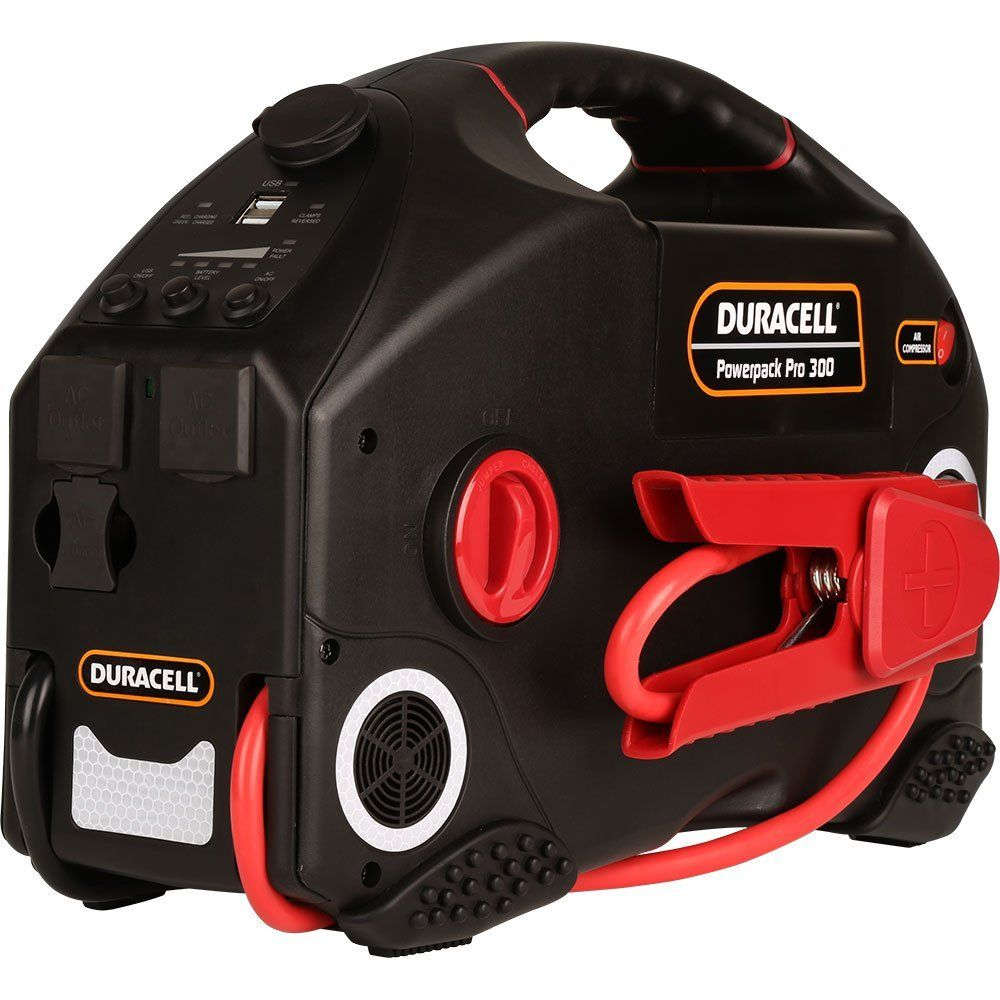 Duracell Car Battery Review >> Duracell Jump Starter Powerpack Pro 300: Battery Jumper Pack