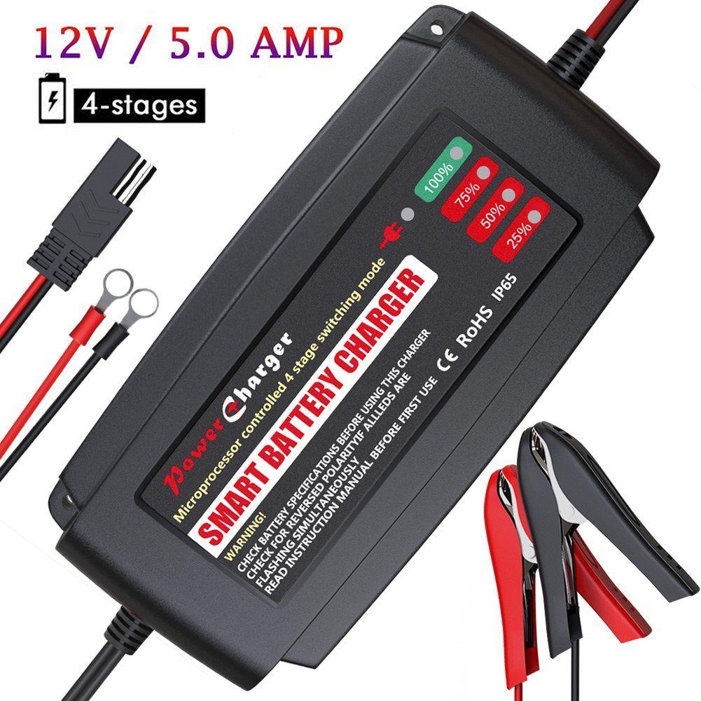 Power Usa 20 Amp 3 Bank Marine Battery Charger 12v 24v And 36v